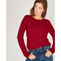 Pull Col Rond Lucie / Pull basique col rond en cachemire